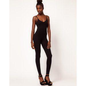 American Apparel Pants & Jumpsuits - American Apparel Black Cotton Spandex Unitard